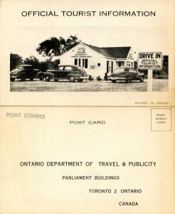 Canada - Ontario, Official Tourist Information (Fold-Out)