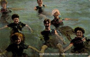 Utah Great Salt Lake City Floating Saltair 1911
