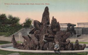 Wilson Fountain, Central Hill Park, SOMERVILLE, Massachusetts, PU-1913