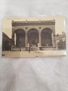 Antique Postcard, Munchen, Feldherrnhalle