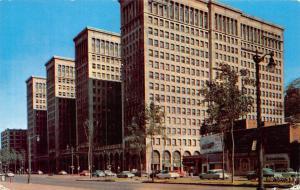 Michigan, General Motors Building Detroit, West Grand Boulevard