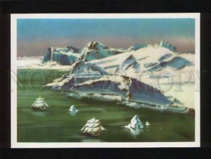 051942 POLAR exploration Opening of Antarctica ships Old PC
