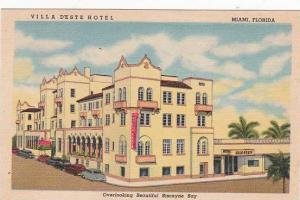 Florida Miami Villa Deste Hotel
