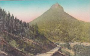 Colorado Colorado Spring Coriey Mountain Highway And Saint Peters Dome Albertype