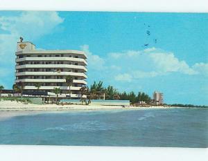 Unused Pre-1980 THREE CROWNS HOTEL Sarasota Florida FL Q3881