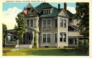 NH - Littleton. Community House & American Legion