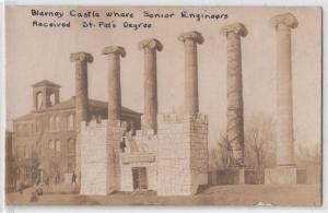 RPPC, Blarney Castle 1913