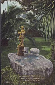 Gooseman Fountain, Glenwood Mission Inn, Riverside, California, 00-10s