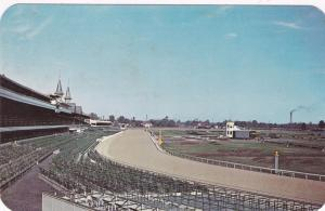 LOUISVILLE, Kentucky, 40-60s; View Of Churchhill Downs & Famous Spires