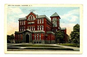 NY - Lockport. New High School