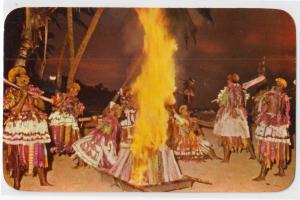 Meke at Dusk, Fijian Warriors, Karolevu Beach Hotel