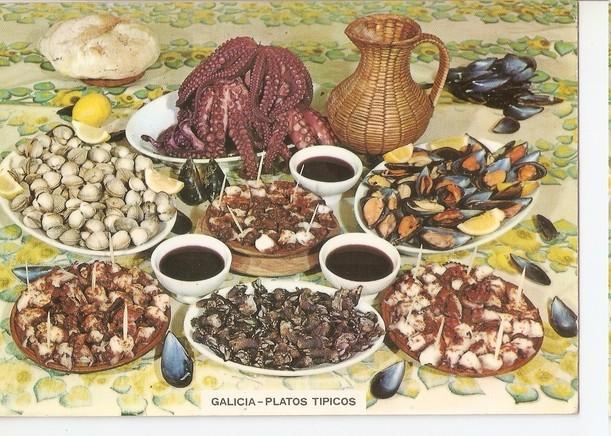 Postal 047518 : Platos tipicos
