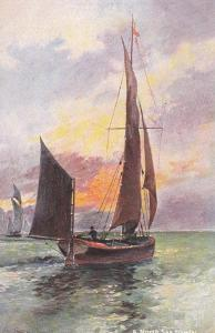 AS: A. Stead; Sailing Vessels #4 , 1900-10s