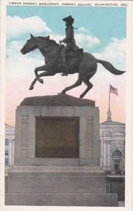 Caesar Rodney Monument Rodney Square Wilmington Delaware