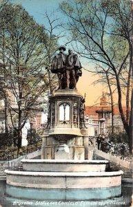 Statue des Comtes d'Egmont et de Hornes Bruxelles Belgium Unused