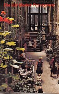 Omaha Nebraska~The Old Market Passageway~1986 Postcard