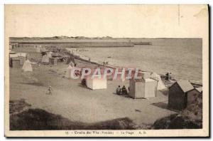Postcard Life Old Cross The Beach