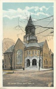 Ithaca New York~First Methodist Episcopal ME Church~Rotundra Entrance~1920s