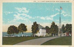 LAKESIDE, Ohio, 1900-10s; U.S. Coast Guard Station