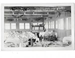 RPPC Pheasent Dining Room State Game Lodge South Dakota President Coolidige's