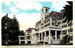 Florida Palm Beach Grand Entrance To Royal Poinciana