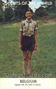Belgium Boy Scouts of America, Scouting Postcard, Post Cards, Copyright 1968 ...