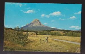 Crowsnest Mountain Height 9138 Feet Near Sentinel, Alberta - 1960s - Unused