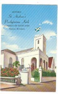 Historic St. Andrew's Presbyterian Kirk,(Church of Scotland), Nassau, Bahamas...