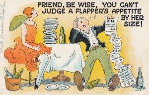 Flapper Comic , 1910-30s