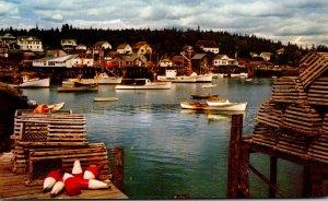 Maine Typical Maine Village