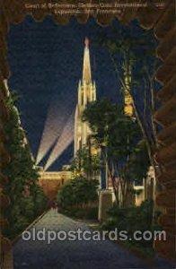 Golden Gate Exposition 1939 - 1940, World's Fair San Francisco Bay, CA Unused