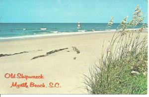 1970's Old Shipwreck, Myrtle Beach, South Carolina