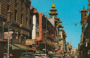 Grant Avenue Chinatown San Francisco California