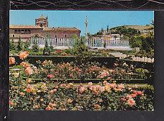 Triumph Fountain,Granada,Spain Postcard BIN