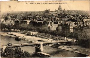 CPA PARIS 6e Vue de la Montagne Ste-Genevieve (302528)