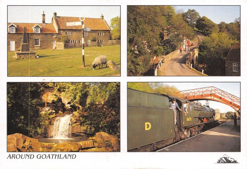 Postcard Around Goathland, Multiview, North Yorkshire, Heartbeat Country #G