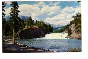 Canadian Rockies, Bow River Falls, Alberta,