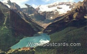 Lake Louise Banff National Park Canada 1968