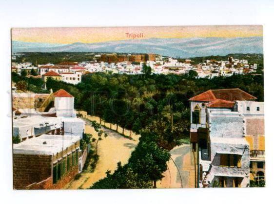 133062 LYBIA TRIPOLI Vintage postcard