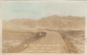 RP: WALL , South Dakota; 1910-30s ; Badlands