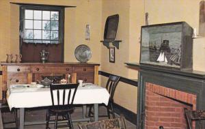 The Dining Room, Cook´s Tavern, Upper Canada Village near CORNWALL, Ontario,...