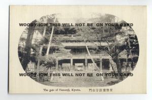ft693 - Japan - Gate of Nanzenji , Kyoto - postcard