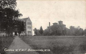 Buckhannon West Virginia Campus W V W C Historic Bldgs Antique Postcard K17206