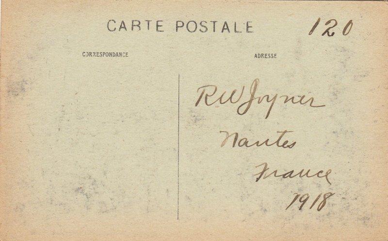 P1692 1918 autun-antique - porte romaine d, arroux, monument. people france
