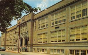 York Pennsylvania~William Penn Senior High School~Students @ Doorway~1960s Pc