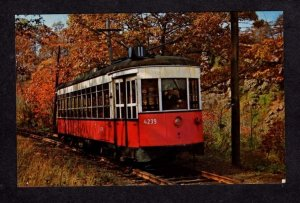 NY Trolley Car Manhattan New York City Vienna Austria Postcard NYC PC