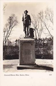 RP; Concord Minute Man, Boston, Massachusetts, 10-20s