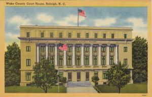 Wake County Court House, RALEIGH, North Carolina, 30-40´s