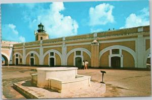 Courtyard at Castillo San Felipe del Morro, Old San Juan, Puerto Rico