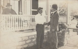 RP: SANDUSKYN , Ohio , 191910 ; Men & Porch